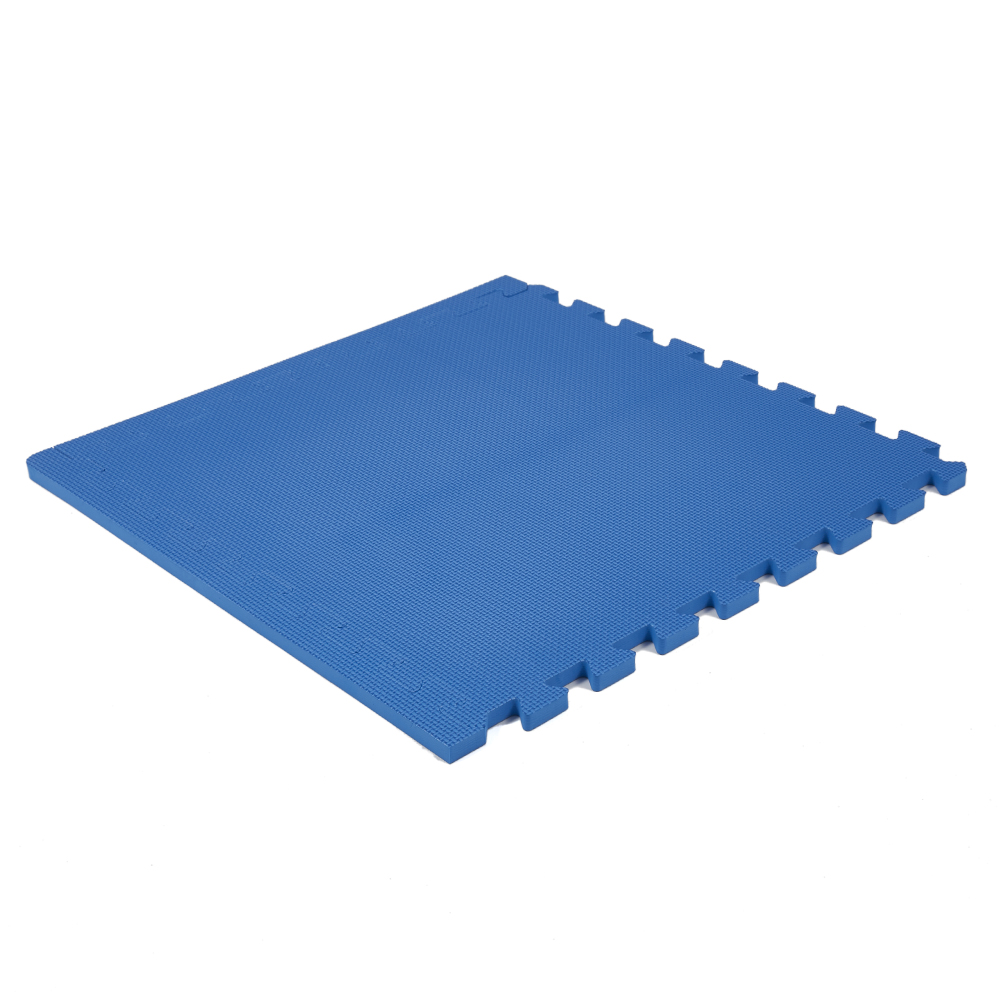 Classic 50cm Eva Foam Mat Blue Soft Floor Uk