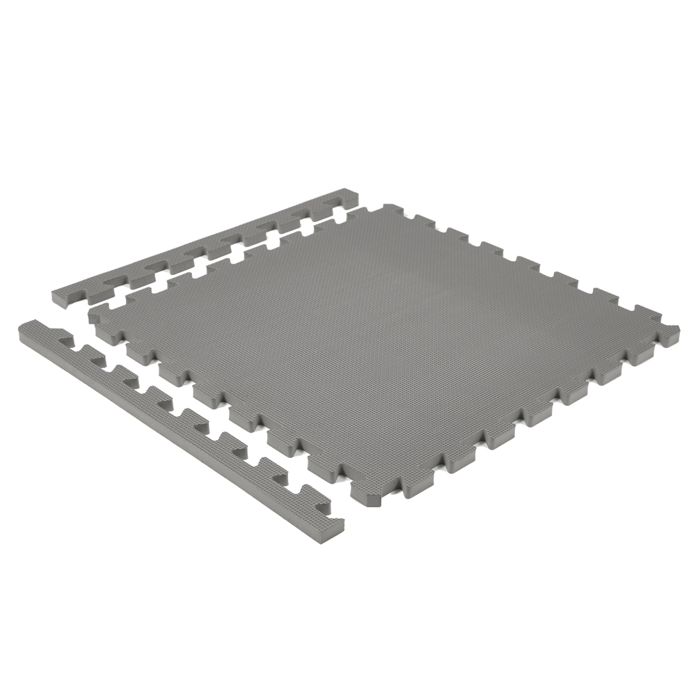 Classic 50cm Eva Foam Mat Slate Grey Soft Floor Uk