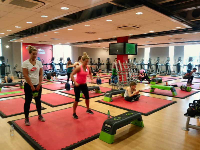 Soft floor uk do the honours with first class fitness