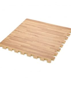 Classic 50cm Eva Foam Mat Wood Effect Oak Soft Floor Uk