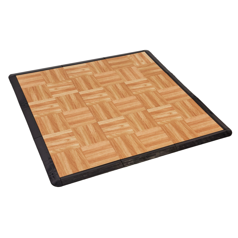 Portable Dance Floor Tiles - 1m Pack - Soft Floor UK