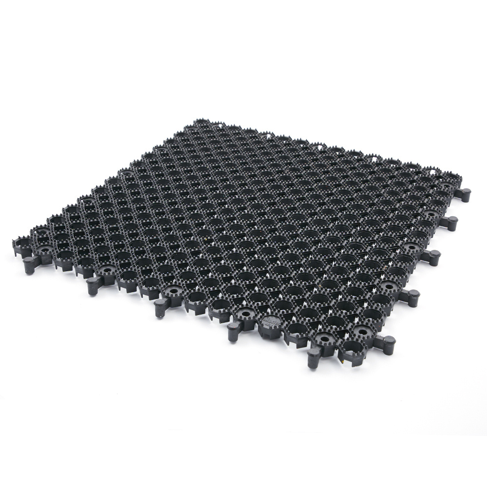 Parkmat Grass Protection Parking Mat 50cm Black Soft
