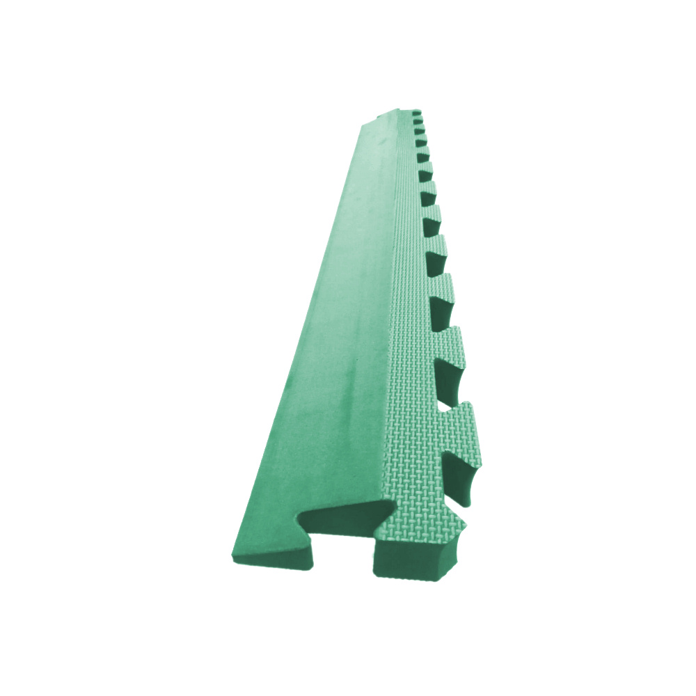 Astrotile Side Ramp Green Soft Floor Uk